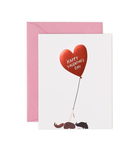 [Rifle Paper Co.] Valentine's Day Balloon Card