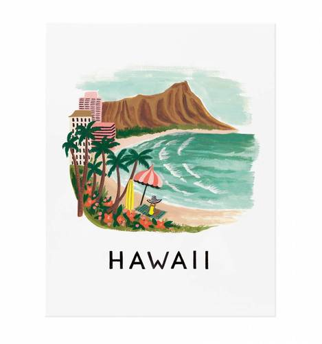[Rifle Paper Co.] Hawaii 11 x 14