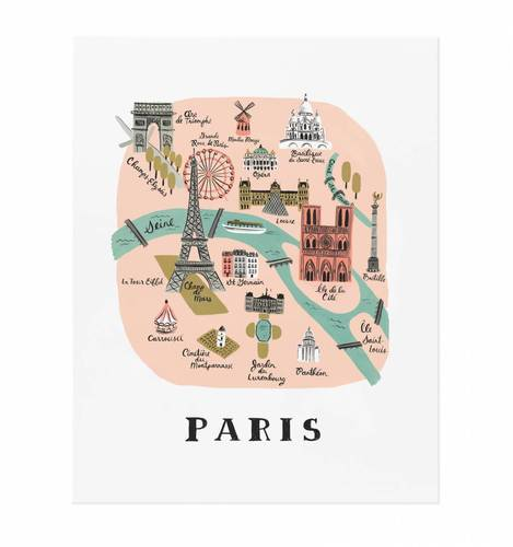 [Rifle Paper Co.] Paris 11 x 14""
