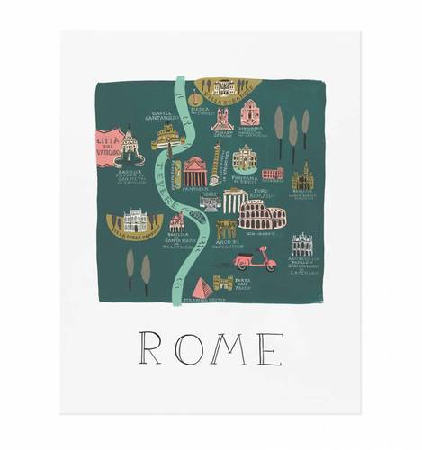 [Rifle Paper Co.] Rome 11 x 14""