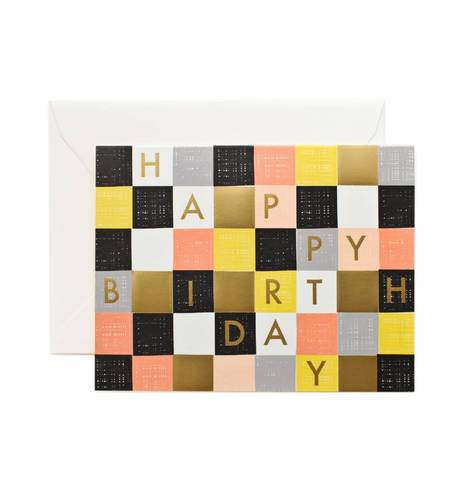 [Rifle Paper Co.] Checkered Birthday by Garance Doré