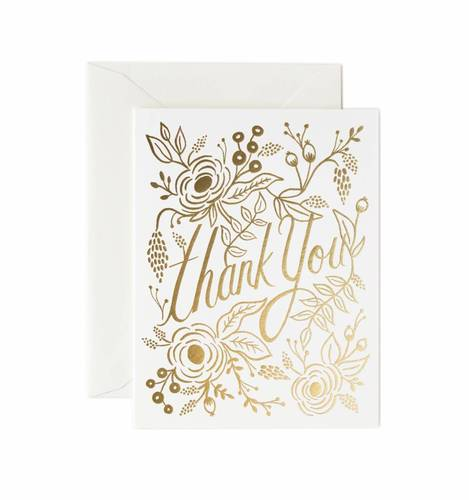 [Rifle Paper Co.] Marion Thank You Card