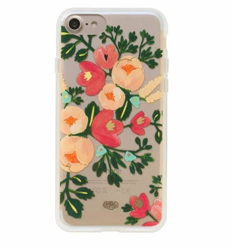 [Rifle Paper Co.] Clear Peach Blossom iPhone Case For 7/7+ [Only]