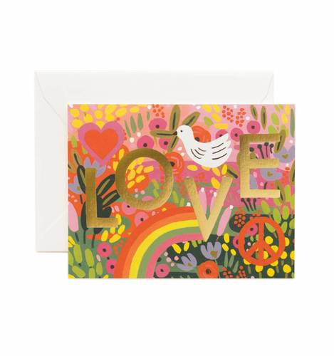 [Rifle Paper Co.] All you Need Is Love Card