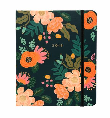 [Rifle Paper Co.] 2018 Lively Floral Covered Planner