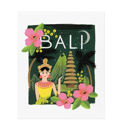 [Rifle Paper Co.] Bali Art Print 8 x 10