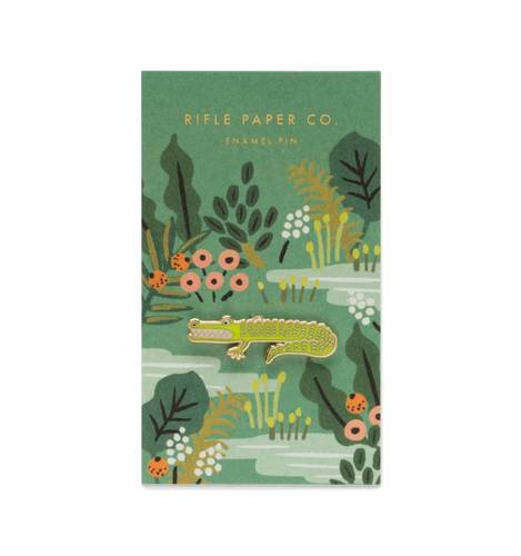 [Rifle Paper Co.] Alligator Enamel Pin