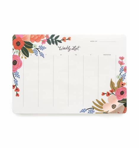 [Rifle Paper Co.] Lively Floral Weekly Desk Pad