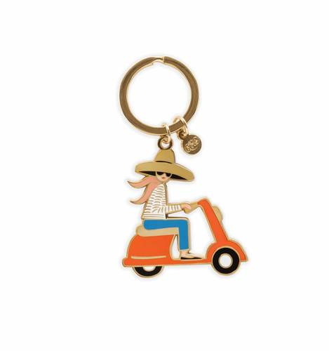 [Rifle Paper Co.] Scooter Keychain