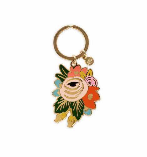 [Rifle Paper Co.] Rosa Keychain