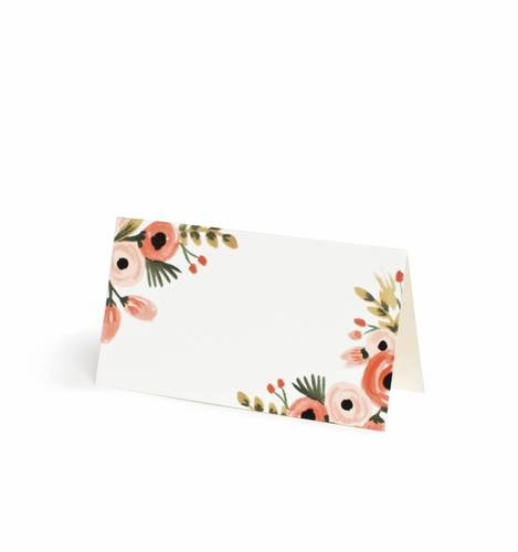 [Rifle Paper Co.] Dusty Rose Place Card