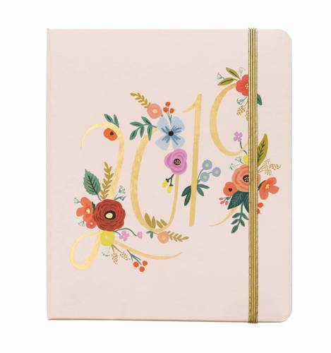 [Rifle Paper Co.] 2019 Bouquet Covered Planner