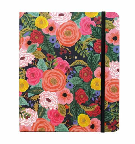 [Rifle Paper Co.] 2019 Juliet Rose Covered Planner