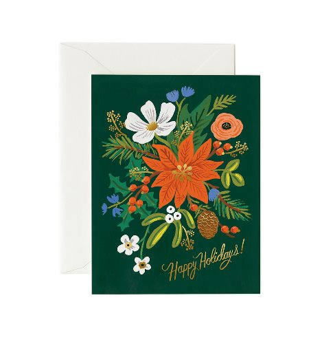 [Rifle Paper Co.] Holiday Bouquet Card