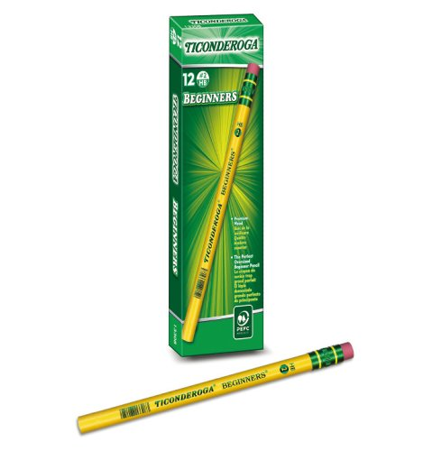 [Dixon] TICONDEROGA BEGINNER Pencils