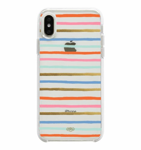 [Rifle Paper Co.] Happy Stripes iPhone Case (iPhone X/XS, XS MAX)