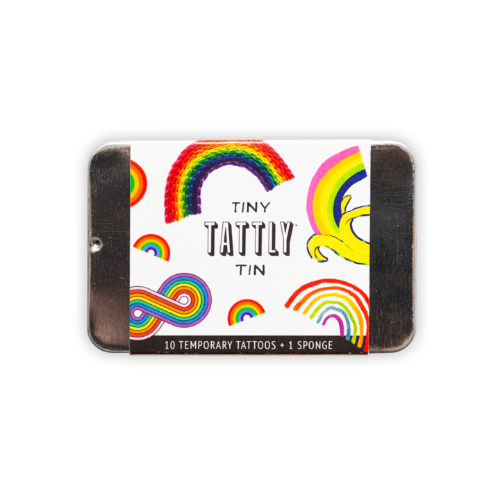 [Tattly] Tiny Rainbow Tin