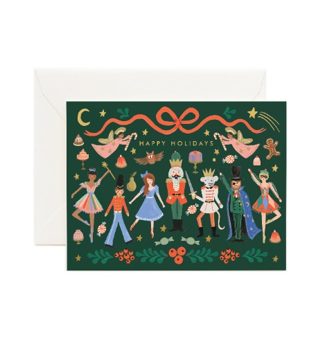 [Rifle Paper Co.] Nutcracker Ballet Card