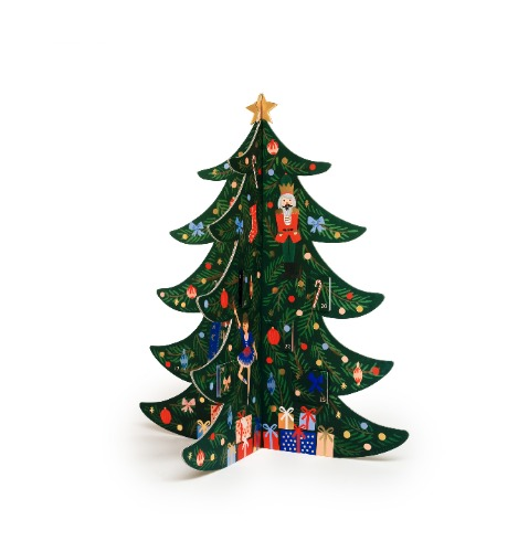 [Rifle Paper Co.] CHRISTMAS TREE Advent Calendar (11월 18일 배송예정)