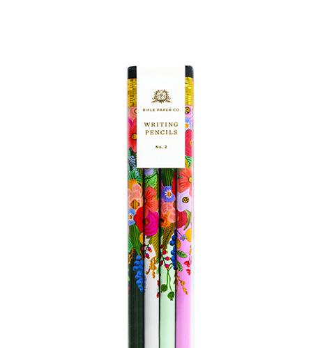 [Rifle Paper Co.] Garden Party Pencil Set [12 pencils]