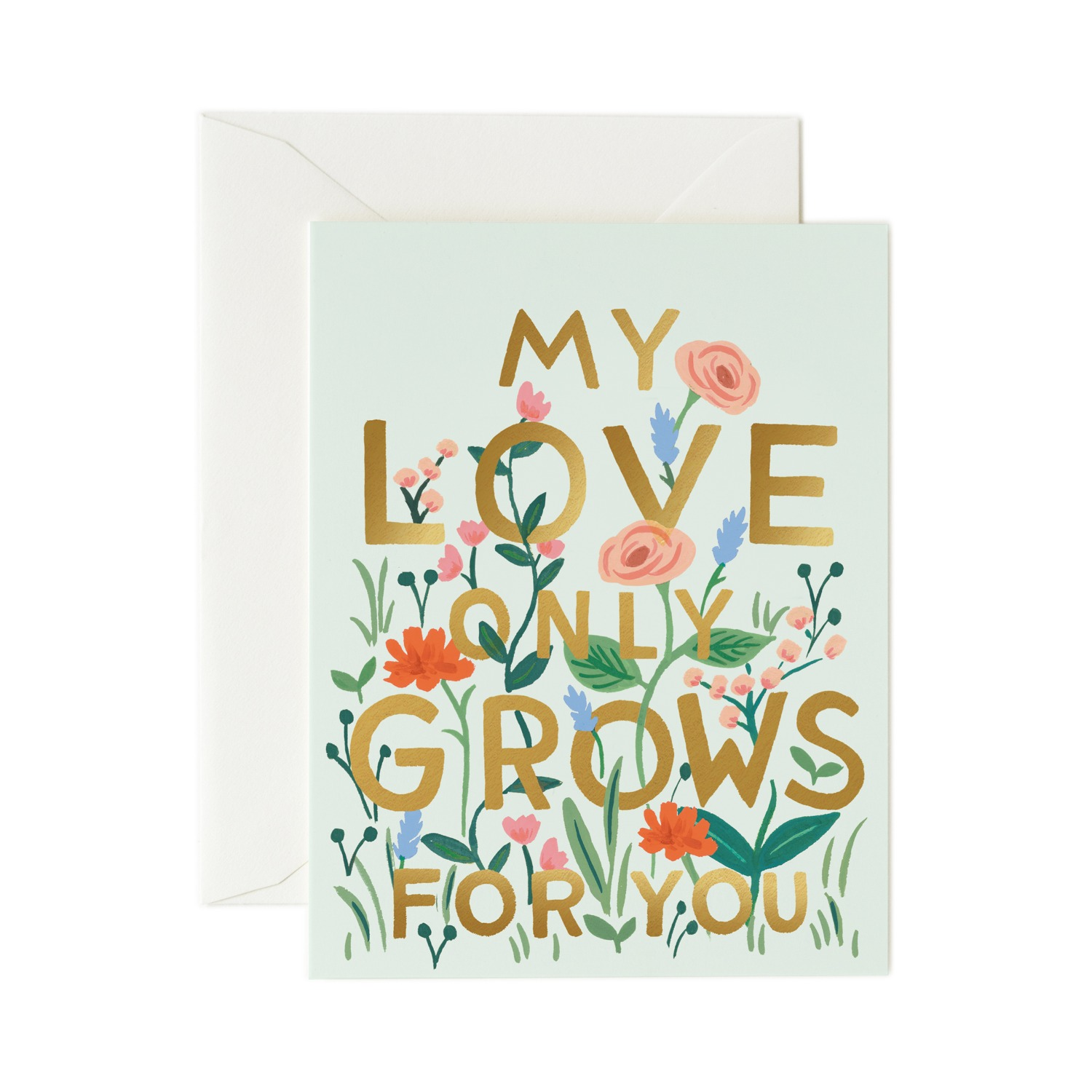 [Rifle Paper Co.] Love Grows Card