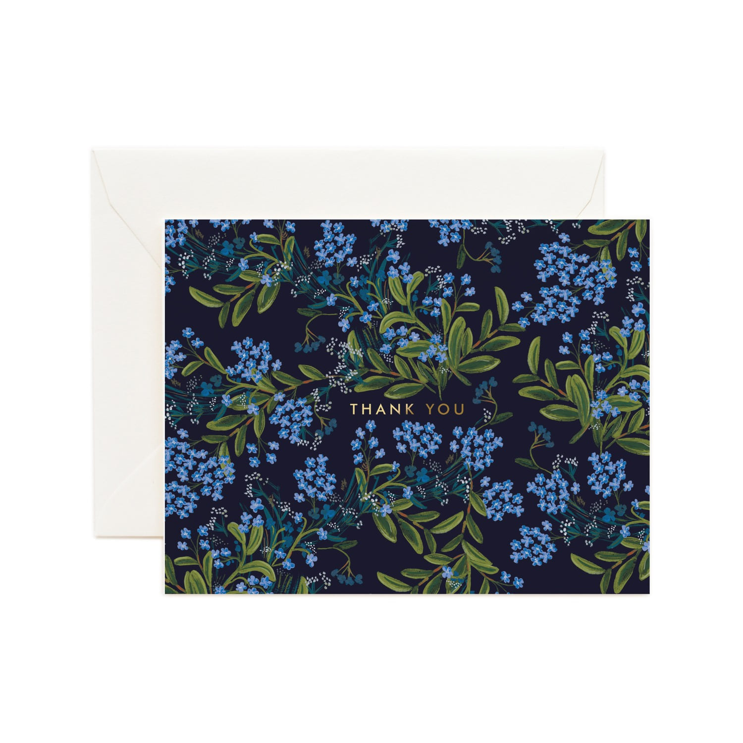 [Rifle Paper Co.] Cornflower Thank You Card