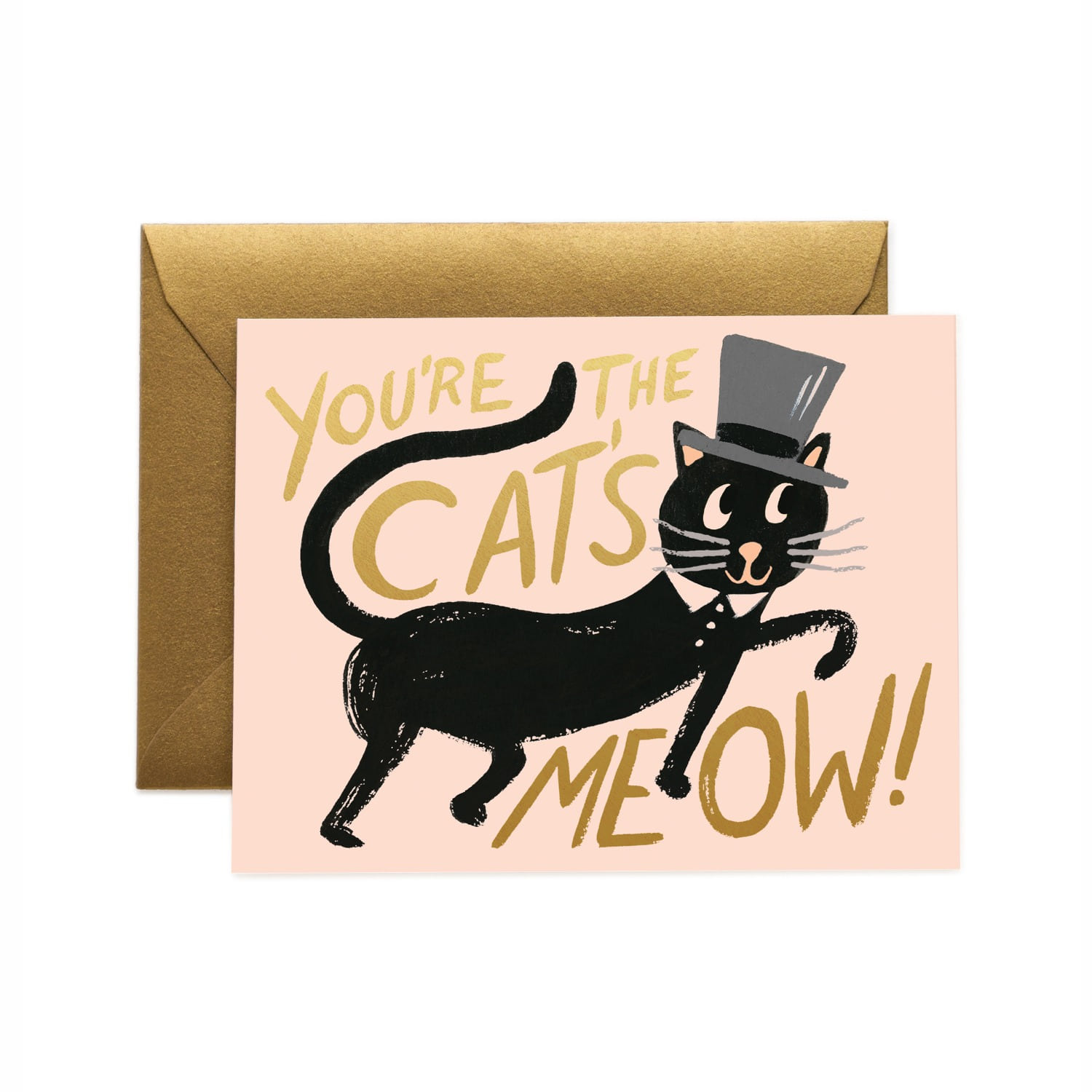 [Rifle Paper Co.] Cat's Meow Card