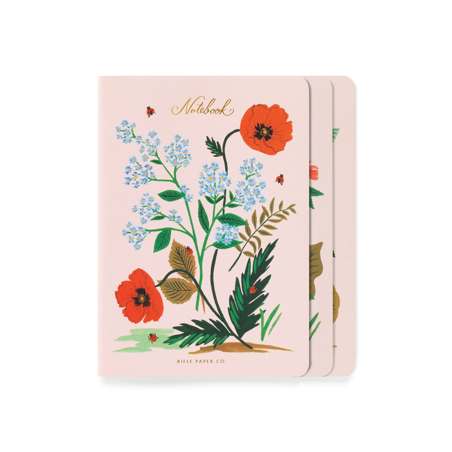 [Rifle Paper Co.] Botanical Stitched Notebook Set