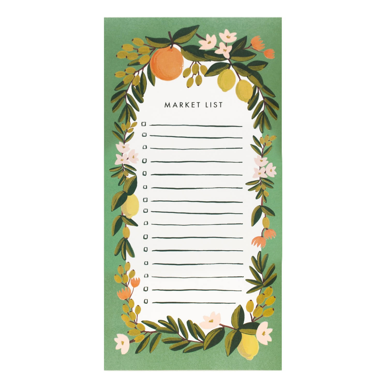 [Rifle Paper Co.] Citrus Floral Julep Market Pad
