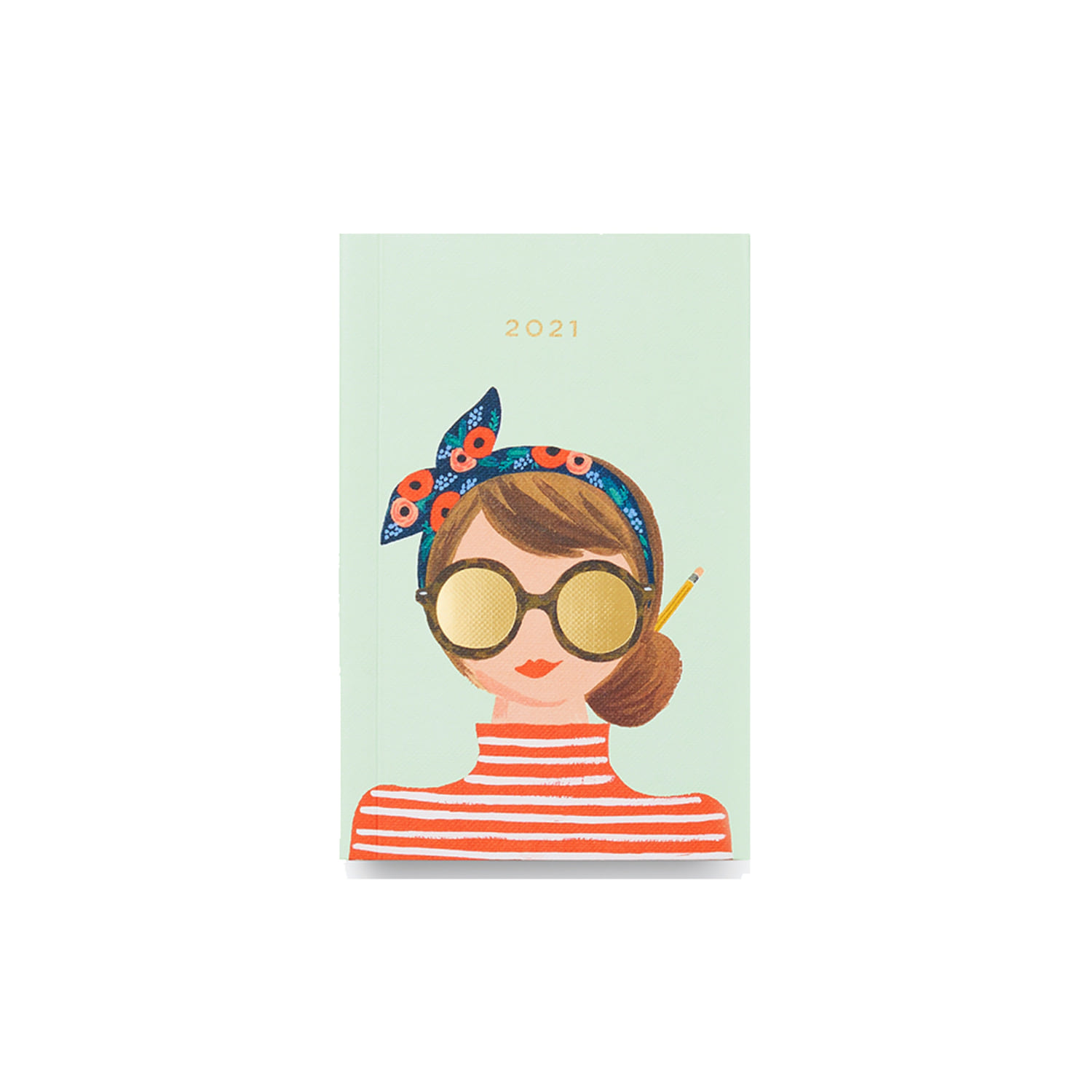 [Rifle Paper Co.] 2021 Hair Bow Pocket Planner