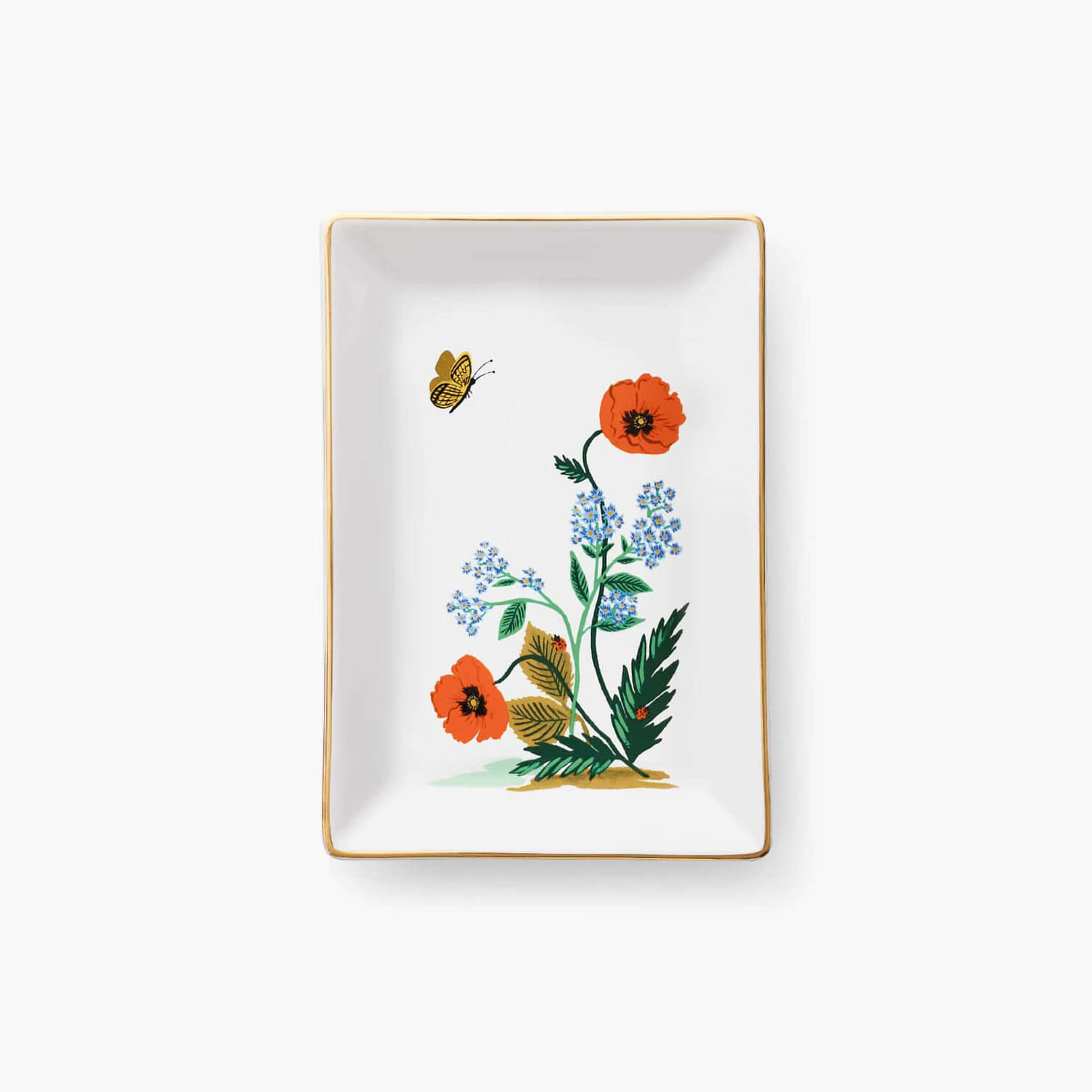 [Rifle Paper Co.] Poppy Botanical Catchall Tray