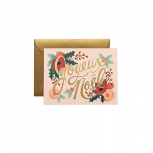 [Rifle Paper Co.] Joyeux Noel Card