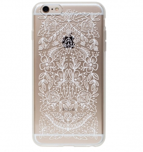 [Rifle Paper Co.] Clear Floral Lace iPhone Case For 6+/6s+ [Only]