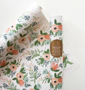 [Rifle Paper Co.] Wildflower Wrapping Sheets [3 sheets]