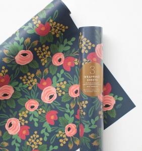 [Rifle Paper Co.] Rosa Wrapping Sheets [3 sheets]