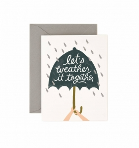 [Rifle Paper Co.] Weather It Together Card