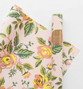 [Rifle Paper Co.] Jardin de Paris Wrapping Sheets [3 sheets]