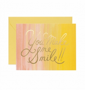 [Rifle Paper Co.] You Make Me Smile Card