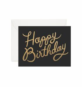 [Rifle Paper Co.] Shimmering Birthday Card