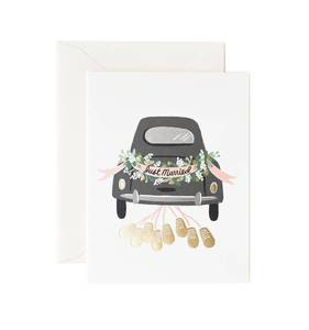 [Rifle Paper Co.] Just Married Getaway Card