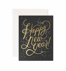 [Rifle Paper Co.] Shimmering New Year Card