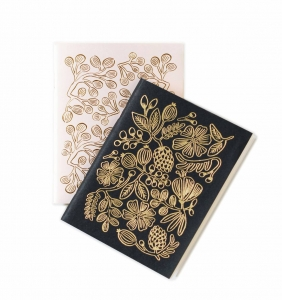 [Rifle Paper Co.] Gold Foil Pocket Notebooks
