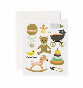 [Rifle Paper Co.] Classic Baby Card