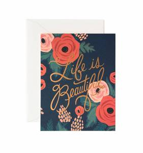 [Rifle Paper Co.] Life is Beautiful Card