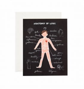 [Rifle Paper Co.] Anatomy of Love Card