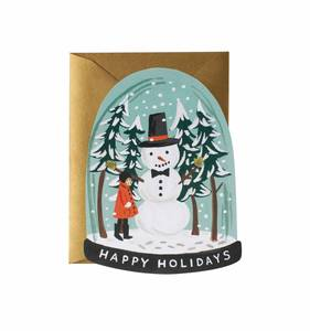 [Rifle Paper Co.] Snow Globe Card