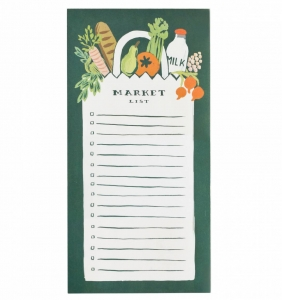 [Rifle Paper Co.] Market List Market Pad