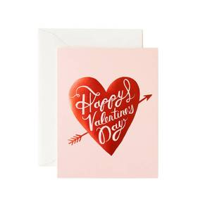 [Rifle Paper Co.] Happy Valentine's Day Heart Card