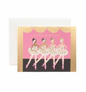[Rifle Paper Co.] Birthday Ballet Card