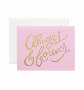 [Rifle Paper Co.] Always & Forever Card